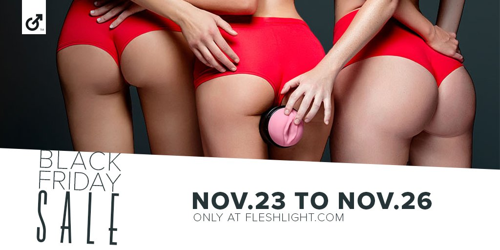 Fleshlight Black Friday Sex Toy Sales Banner