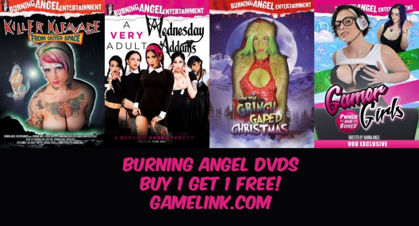 Gamelink Buy 1 Get 1 Free DVD Black Friday Sale