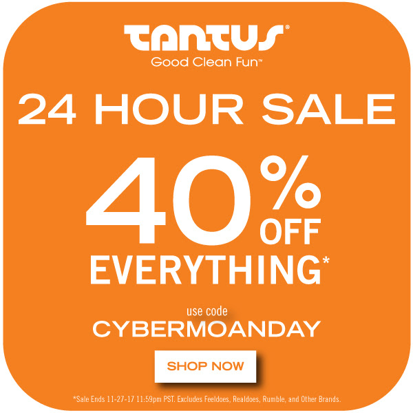 Black Friday Tantus Sale