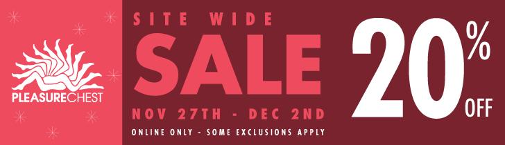 Pleasure Chest 20% off Black Friday Sale