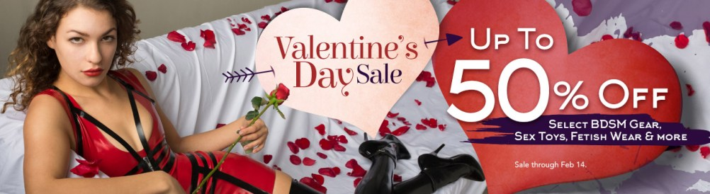 Stockroom Valentine's Day Sale 2018
