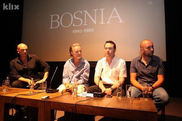 Ourdan, Lowe, Jones i Gafić ◊ Foto: Almir Panjeta/Klix.ba