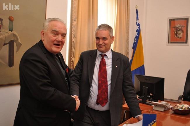 Alija Behmen i Svetozar Pudarić (Foto: Nedim Grabovica/Klix.ba)