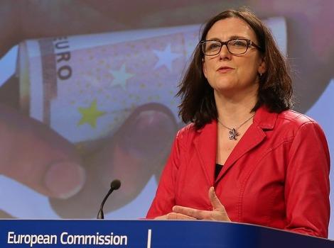 Malmstrom: Evropska unija je duboko korumpirana