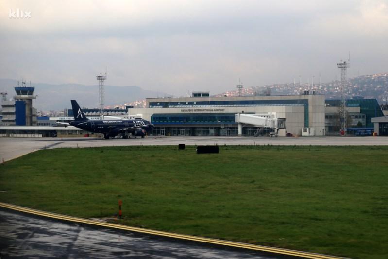 Međunarodni aerodrom Sarajevo (Foto: Feđa Krvavac/Klix.ba)