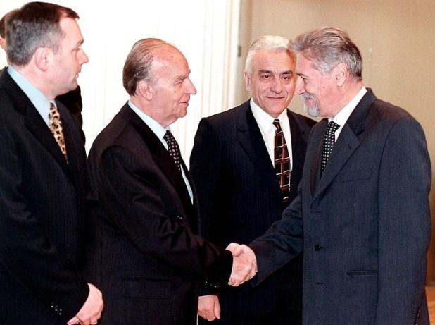 Drugi saziv Predsjedništva BiH (Foto: EPA-EFE)