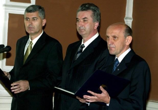 Treći saziv Predsjedništva BiH (Foto: EPA-EFE)