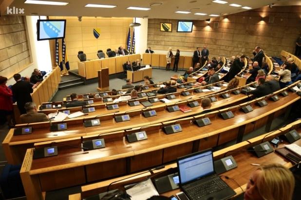 Dom naroda Parlamenta FBiH (Foto: Klix.ba)
