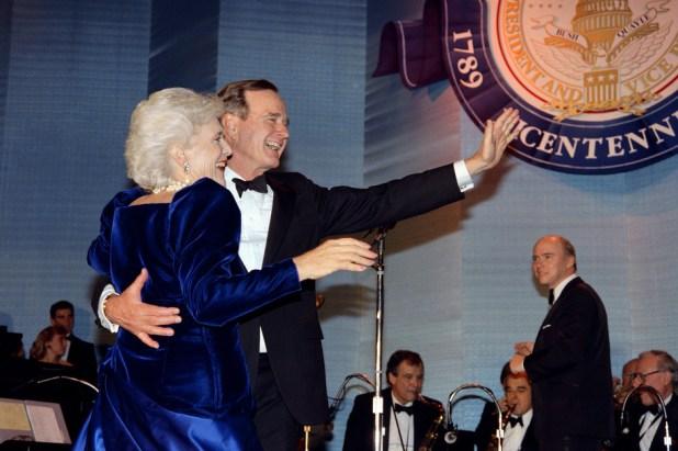 Barbara i George H.W. Bush (Foto: AFP)