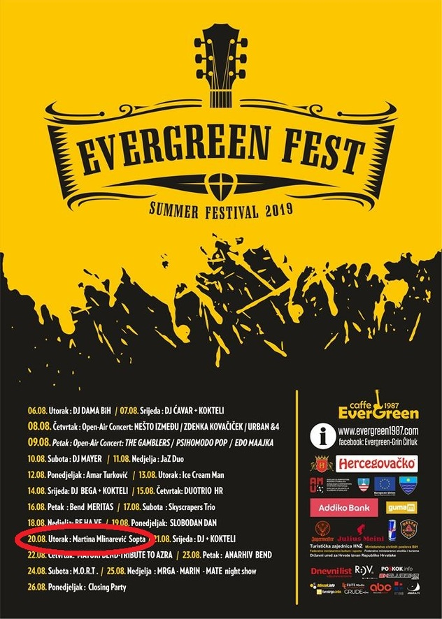 Najavni plakat festivala