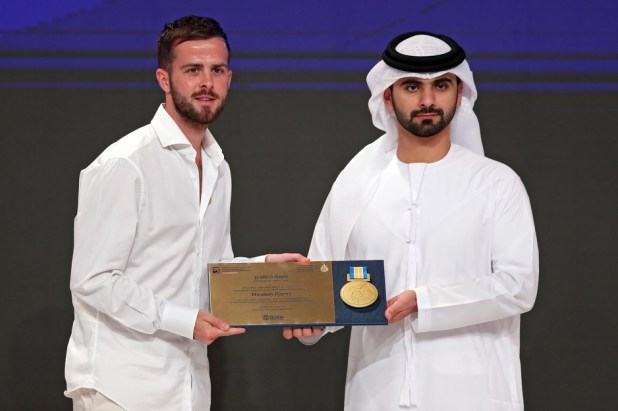 Na dodjeli nagrada u Dubaiju (Foto: EPA-EFE)