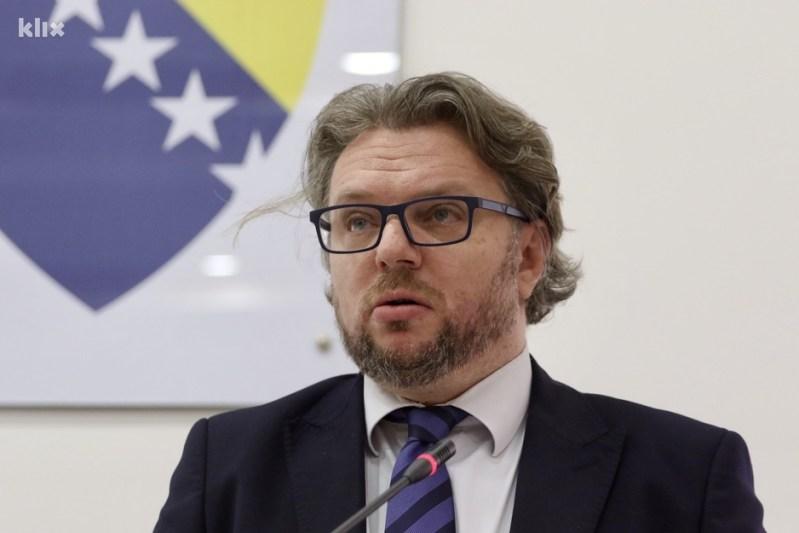 Željko Bakalar, predsjednik CIK-a (Foto: D. Ć./Klix.ba)