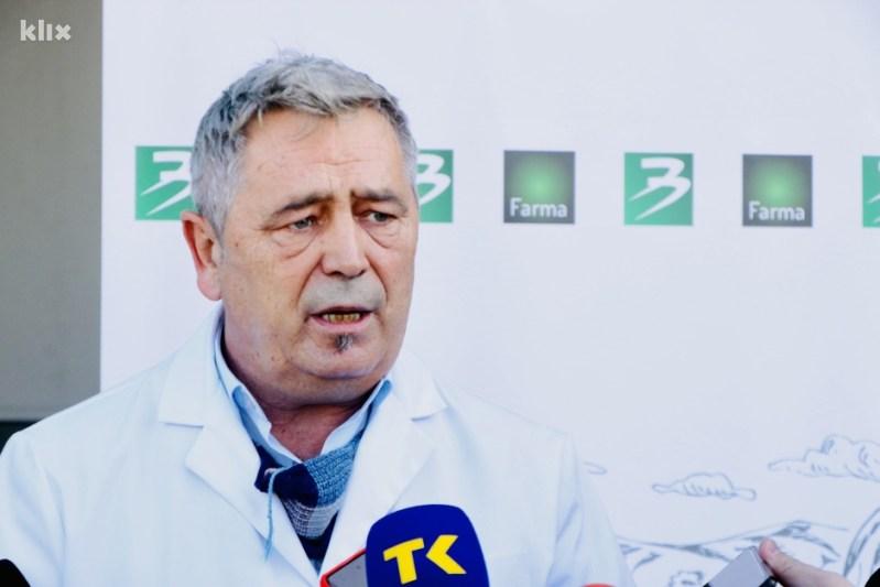 Enes Omerović, rukovodilac peradarske proizvodnje Binga (Foto: A. K./Klix.ba)