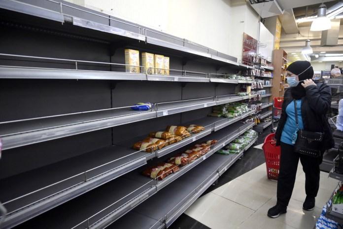 Česte scene iz bejrutskih prodavnica (Foto: EPA-EFE)