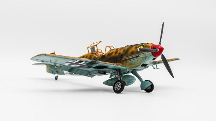 Tamiya No. 61063 1/48 Messerschmitt Bf109E-4/7 Trop