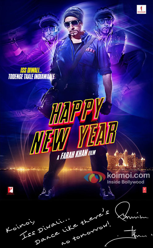 poster for happy new year
