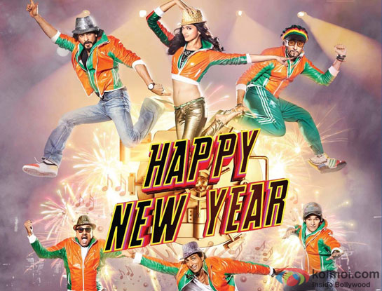 happy new year film poster