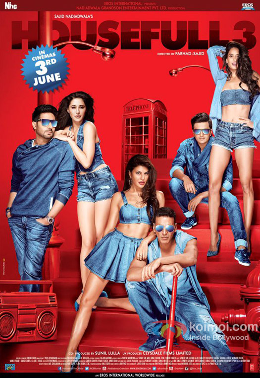 Image result for Housefull 3 poster