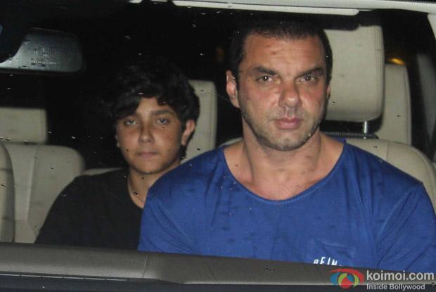 Sohil Khan and Nirvaan Khan Arrived For Arpita Khan's Birthday Bash