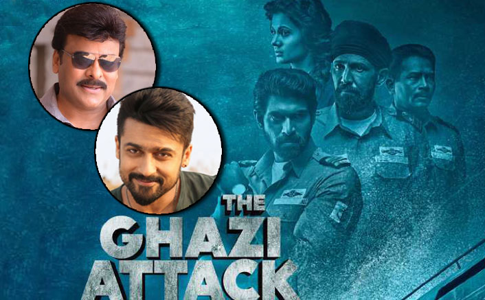 Chiranjeevi, Suriya to lend their voice for 'Ghazi'