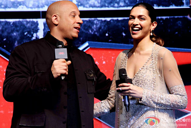 Deepika a beautiful soul and blessing in my life: Vin Diesel