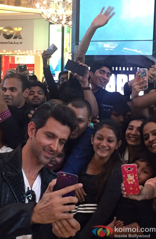 The Kaabil Team Heads to Dubai!