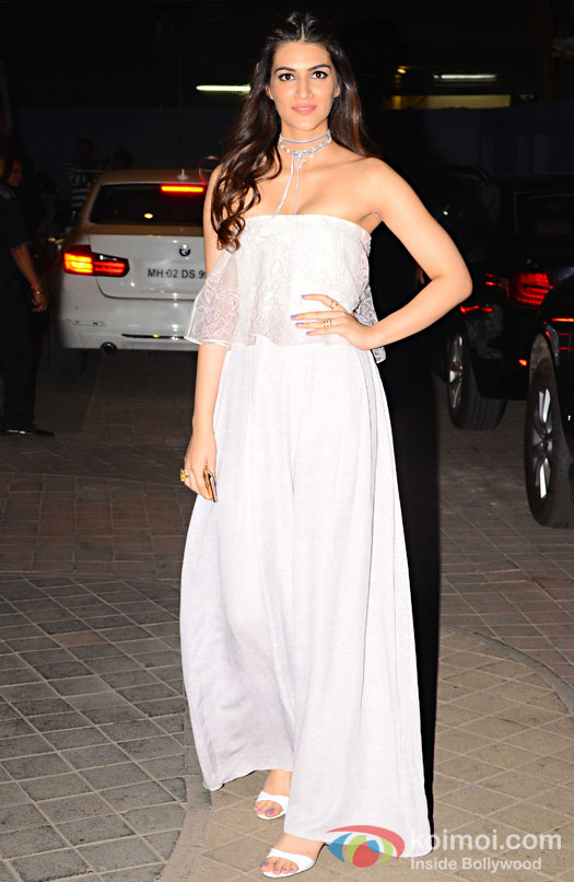 Kriti Sanon during the screening of OK Jaanu