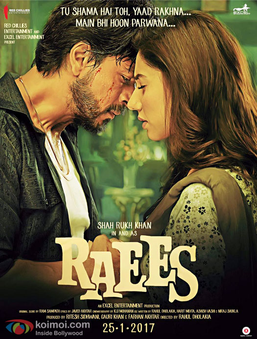Image result for raees poster
