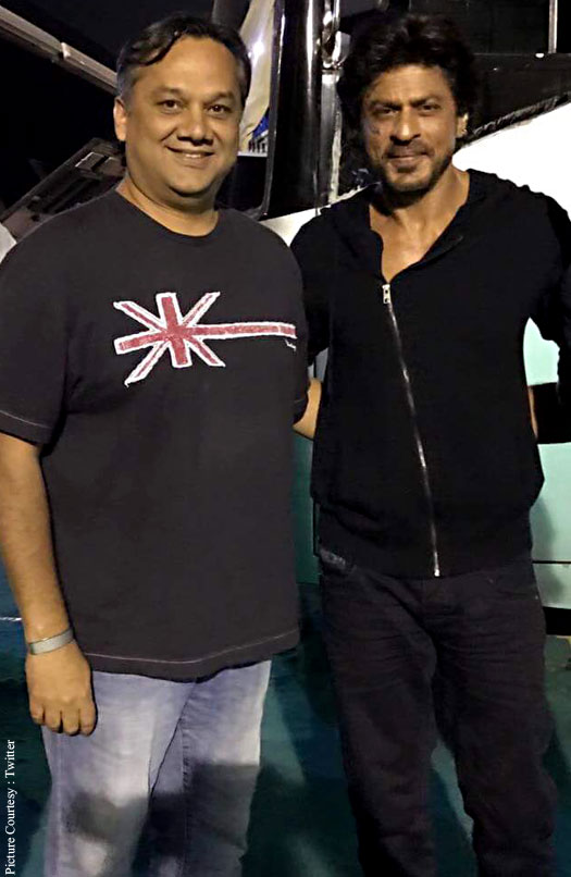 Shah Rukh Khan snapped at Tubelight's shoot!