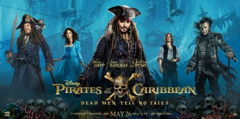 Pirates of the Caribbean Dead Men Tell No Tales Johnny Depp