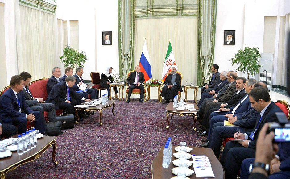 Russian-Iranian talks.