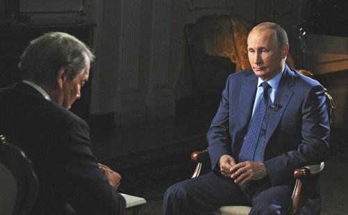 Интервью американскому журналисту Чарли Роузу для телеканалов CBS и PBS