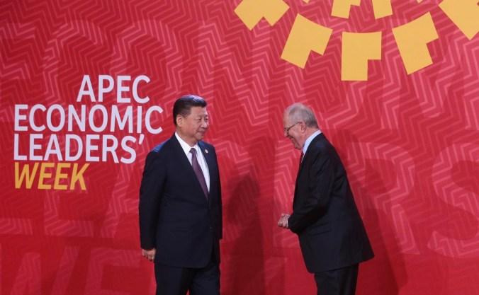 Xi Jingping Pedro Kuczynski APEC 2016