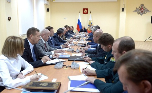 Meeting on ensuring law and order in Crimea • President of ...