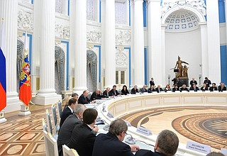 Meeting of the Presidential Council for Culture and Art