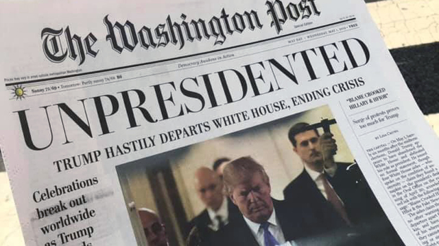 Fake Washington Post paper editions being circulated in DC