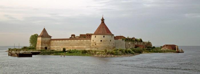 Шлиссельбургская крепость - место, где содержался Иван VI.