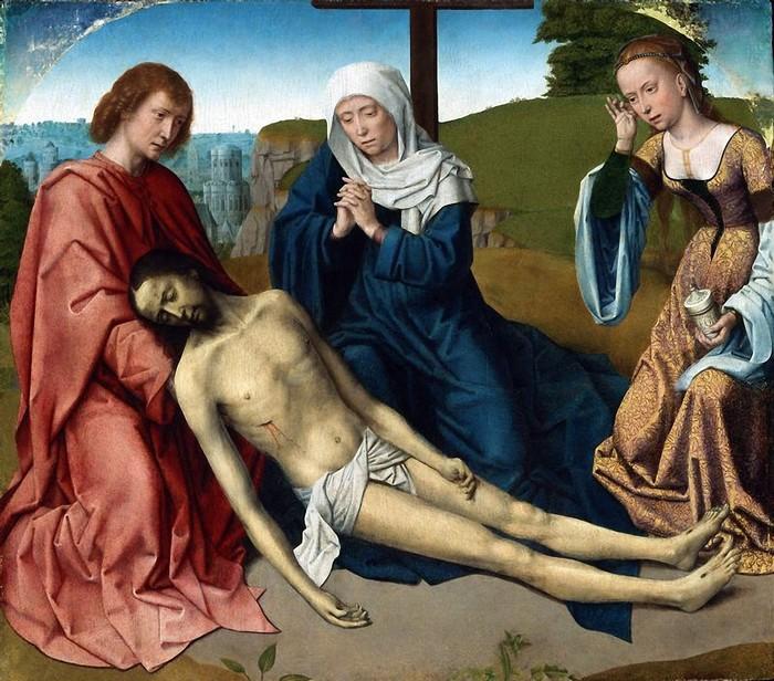 Оплакивание Христа. Автор: Gerard David.