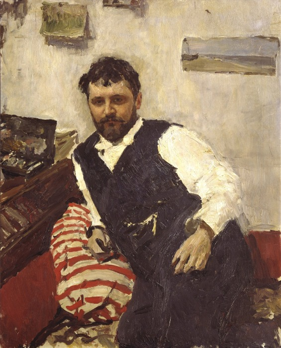 Константин Коровин, портрет кисти В.А. Серова, 1891, из коллекции И. А. Морозова. / Фото: www.wikimedia.org