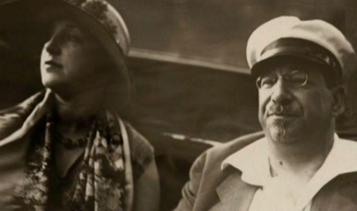 Анатолий Луначарский и Наталья Розенель. / Фото: www.tvkultura.ru