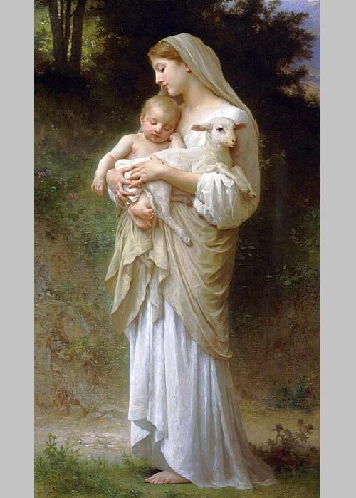 «Младенцы». Автор: William Bouguereau.