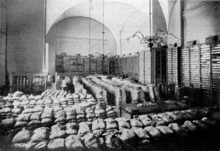Золотая кладовая Казанского банка, где в 1918 г. хранилась половина золотого запаса России./Фото: image.jimcdn.com