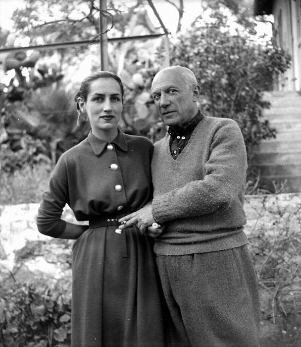 Франсуаза Жило и Пабло Пикассо.