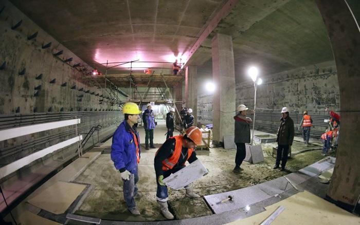 Прокладку тоннеля остановил военный снаряд. /Фото:ria.ru