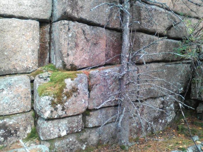 Похоже на типичную древнюю стену. /Фото:Андрей Худоногов