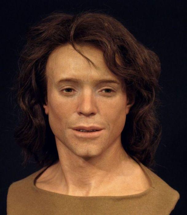 Молодой человек, живший в VIII веке нашей эры. Его череп был найден в Гренхене (Швейцария)/Фото с сайта О.Д. Нильссона