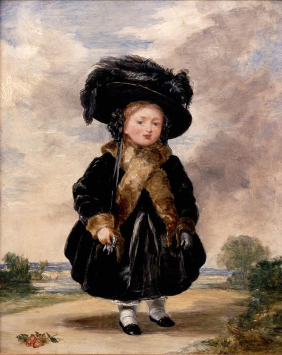 Виктория в возрасте 4-х лет
