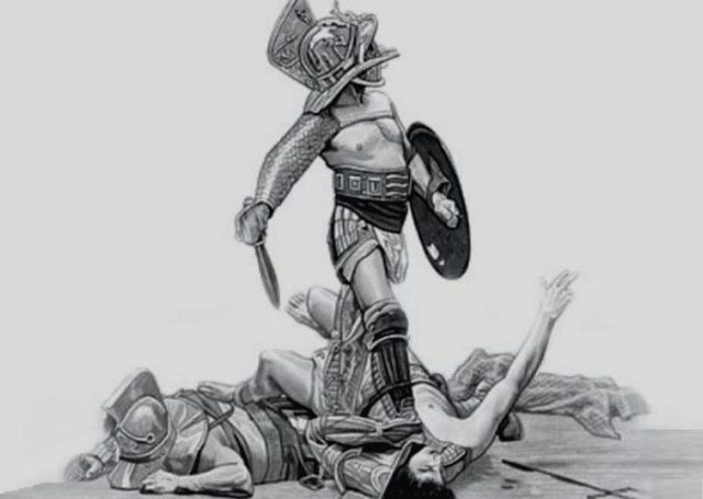 Жінки теж були гладіаторами.
