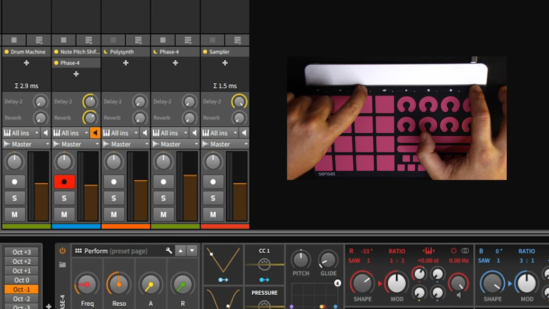 Sensel Announces Free Bitwig Studio 8 Track With Morph