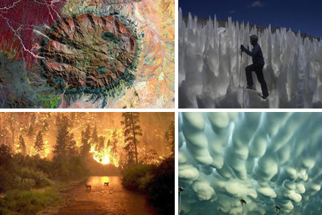 82 Epic Elemental Phenomena and Natural Disasters